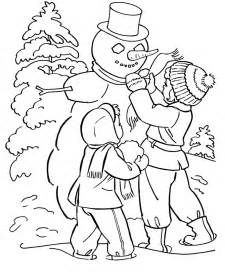 winter coloring pages free printable winter coloring pages for