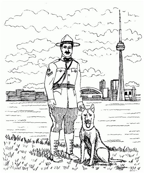 coloring pages of police dogs police dog coloring pages az coloring pages