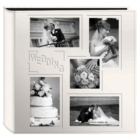 Wedding Albums South Africa by Embossed Collage Frame 5 Up Photo Wedding Album Target