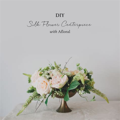 Flower Wedding Centerpiece by Diy Silk Flower Centerpiece Green Wedding Shoes