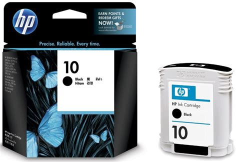 Tinta Hp 10 Black Original by Hp 10 Black Ink Cartridge C4844a Original Rizal Toner