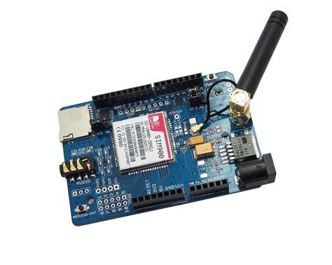 gsm gprs sms shield sim900 simcom sim900 quad band gsm gprs shield with micro sd