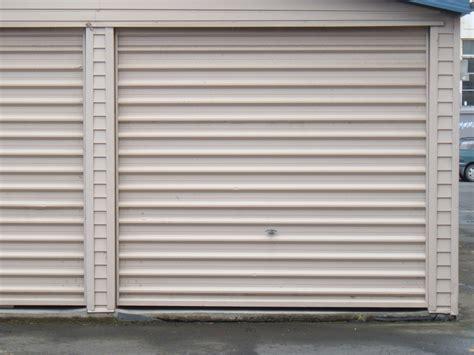 Metal Garage Doors Corrugated Steel Garage Door New Zealand Flickr Photo