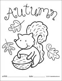fall coloring pages for preschoolers autumn squirrel coloring page fall coloring pages