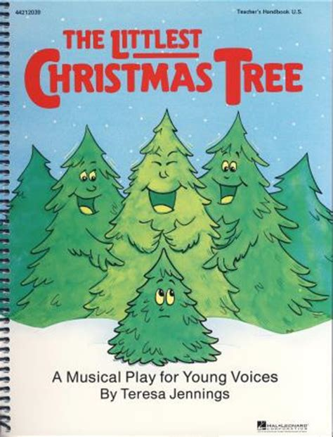 littlest christmas tree the sheet music by teresa