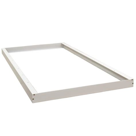 led panel light 2x4 surface mount frame hardware for skylight led panel light