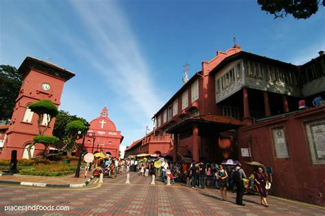 stadthuys melaka red building pictures