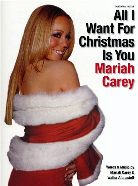 All I Want For by Carey All I Want For Is You Pvg Sheet
