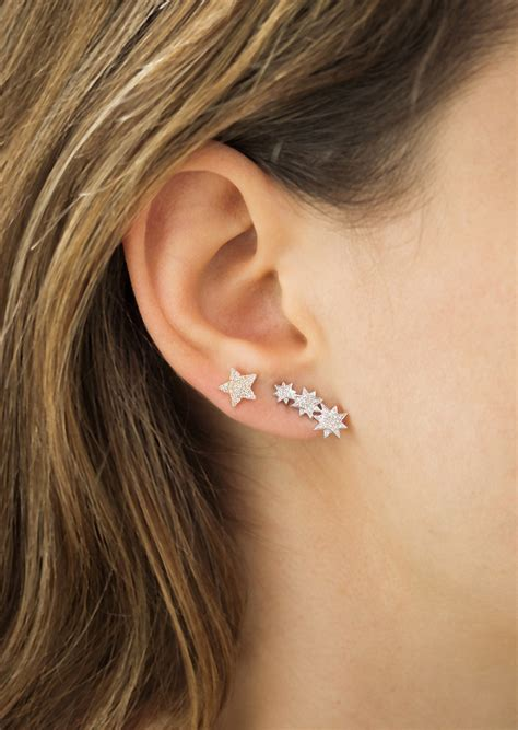ear climber earrings ear climbers the edgy trend we re embracing for 2015