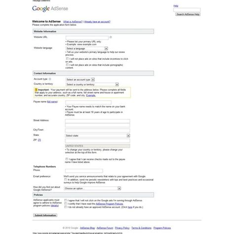adsense request new pin how to get approved for google adsense