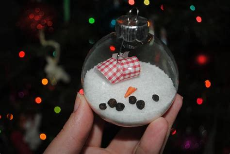 melted snowman ornament diy christmas crafts