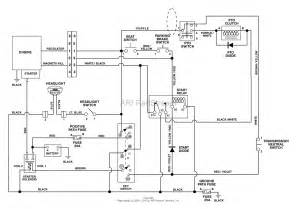ariens 927061 000101 000399 1028 rer 10hp b s hydro 28 quot deck parts diagram for wiring diagram