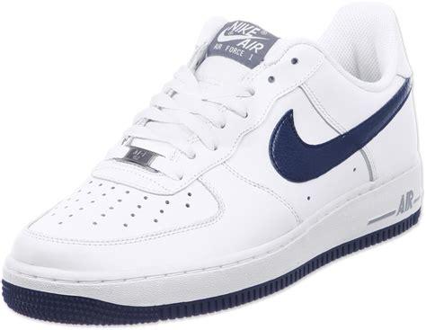 nike air 1 shoes white blue