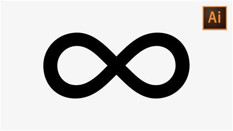 infinity sign learn how to quickly create an infinity symbol in adobe