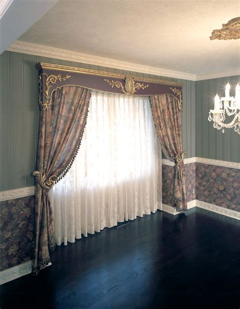 Houzz Dining Room Window Coverings Window Treatments Traditional Dining Room Omaha By