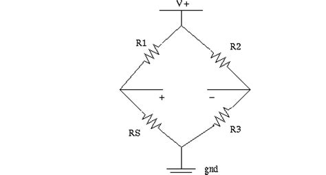 wheatstone bridge voltage output lifiers