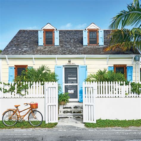 living houses this harbour island bahamas beach cottage is for sale