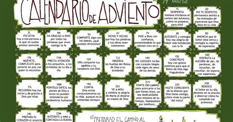 Calendario De Adviento 2017 La Nueva Jerusalem Calendario De Adviento
