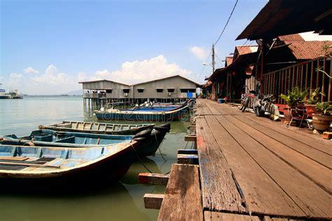 village jetty stock photo image 64063688 fisherman village jetty penang malaysia stock photo