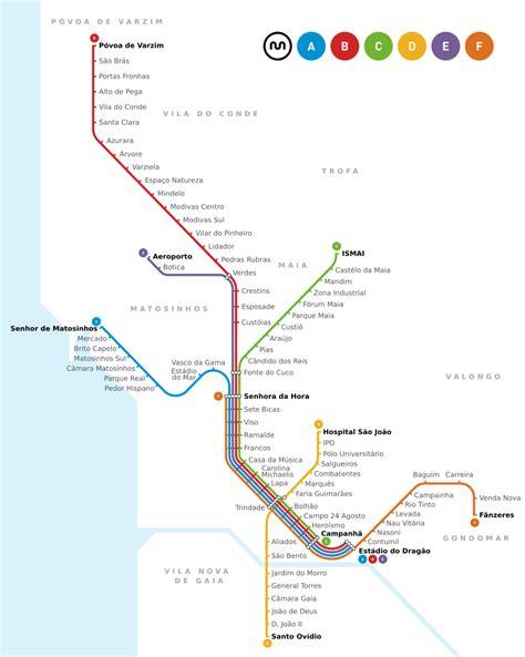 metro porto portogallo file strecke metro porto svg wikimedia commons