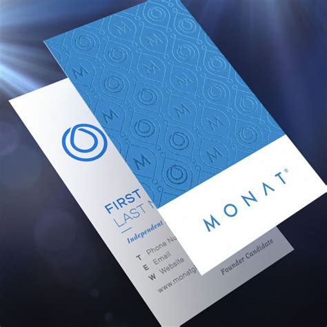 Monat Business Cards