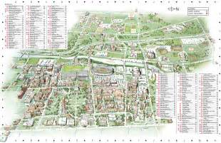 Ohio State Campus Map by Ohio State University Main Campus Map 154 W 12th