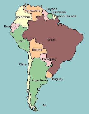 labeled america map quiz map of south america with countries labeled