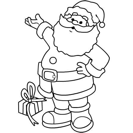 Santa Coloring Pages 2 Coloring Kids Santa Clause Coloring Page