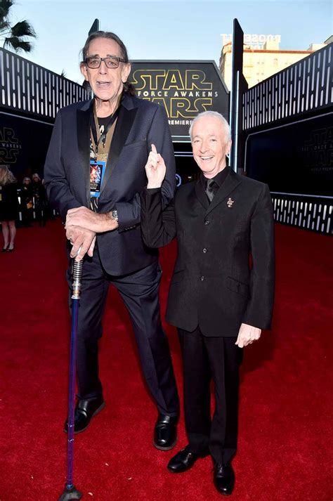 anthony daniels height hollywood ca december 14 actors peter mayhew l and