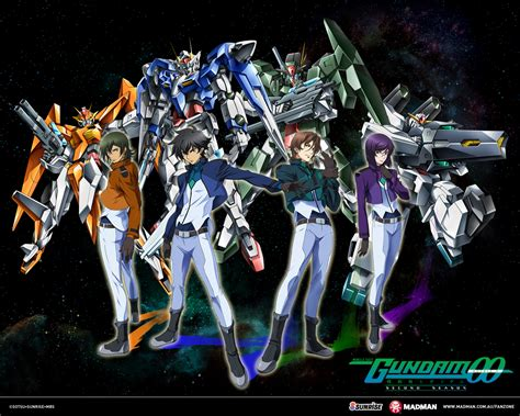 mobile suit gundam 00 second season madman entertainment