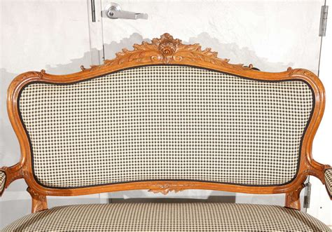 canap駸 vintage antique louis xv style canape for sale at 1stdibs