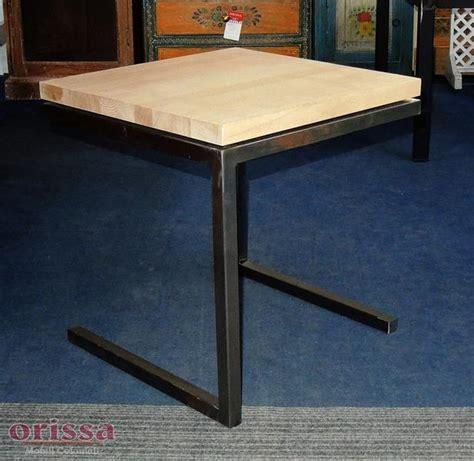 tavoli in legno e ferro tavolino ferro e legno cx033 orissa