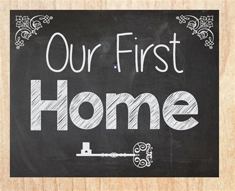 our first home picmia our first home sign chalkboard instant printable new house
