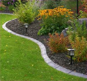 flower bed edging ideas gardens gardens