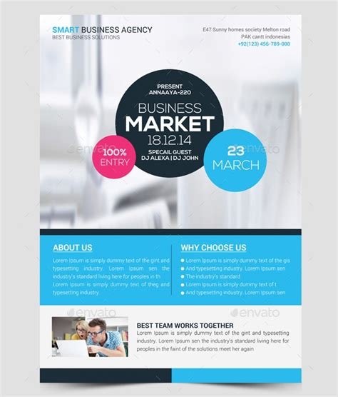Marketing Flyer Software 60 flyer templates printable psd ai vector eps format