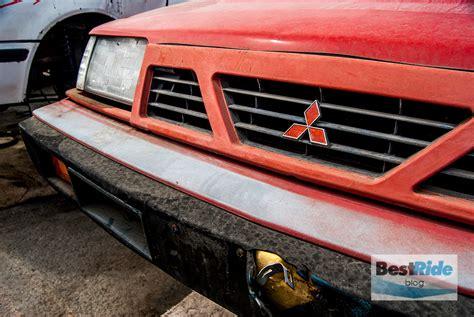 mitsubishi hatchback 1980 junkyard therapy 1986 mitsubishi cordia 80s ambition