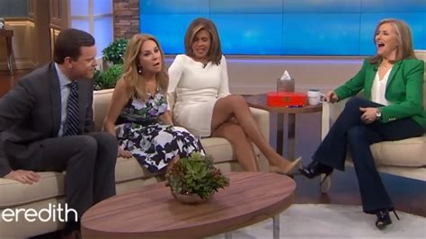 hoda and katie lee make overs hoda kotb flashes her spanx ft kathie lee gifford and