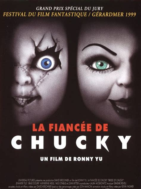 film streaming chucky 1 affiche du film la fianc 233 e de chucky affiche 1 sur 1