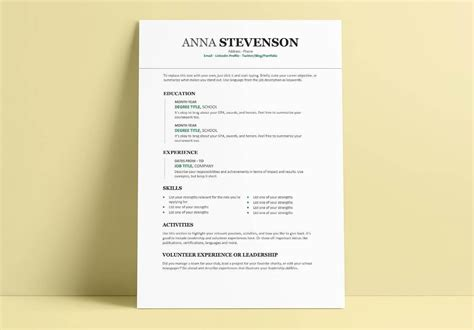 college application resume template sample freshman college student