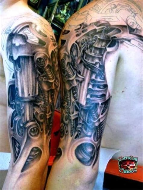cyberpunk tattoo cyberpunk 20 biomechanical tattoos