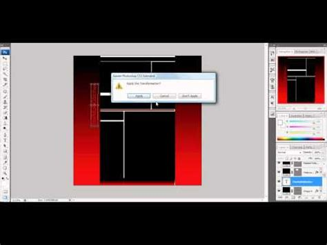 template photoshop cs3 tutorial how to make youtube template using photoshop cs3