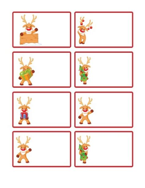 printable rudolph gift tags free santa printables letters from santa blogletters