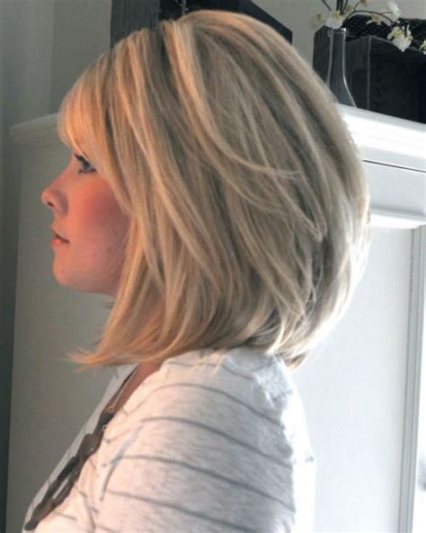 hairstyles layered bob medium length 25 best ideas about shoulder length bobs on pinterest