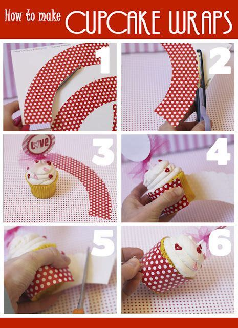 How To Make Cupcake Holders With Paper - this webpage has a cupcake wrapper template use with any
