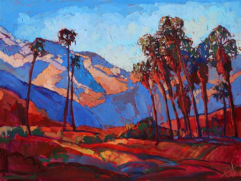 palm springs color by erin hanson