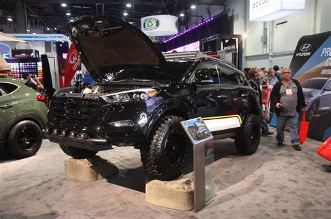 Lifted Hyundai Santa Fe by Sema 2015 The Asiatic Contingent Top 10 Show Vehicles