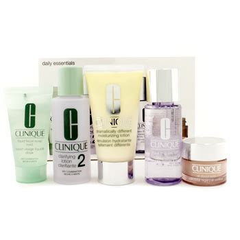 clarifying shoo to remove color daily essentials set combination skin clarifying
