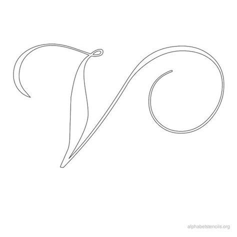 dreamland pattern writing alphabet stencils calligraphy v ideas pinterest