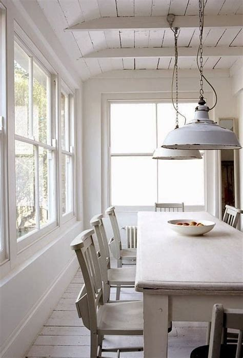 all white dining room sunroom white dining table chairs