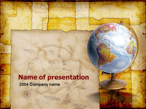 ppt templates free download geography historical geography presentation template for powerpoint